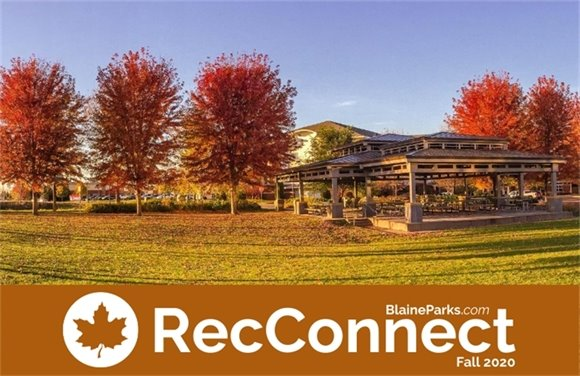 Fall 2020 Blaine Parks and Recreation Connection Online