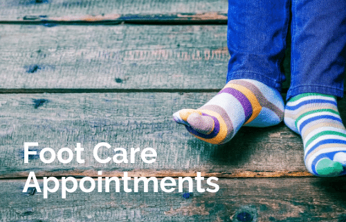 Foot Care Appointments - 500