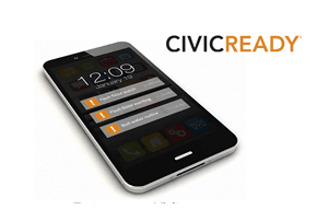 CivicReady on Mobile Device - 300