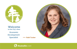 Welcomes to the City's New Economic Development Specialist - Ruth Tucker - 300x192