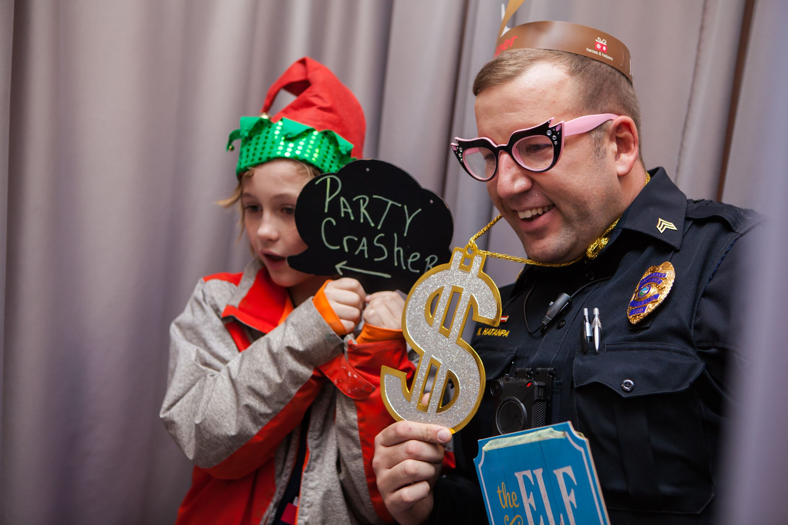 2018 Heroes and Helpers Photo Booth
