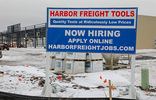 Harbor Freight Construction